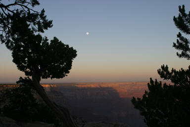 Grand Canyon after sunrise.