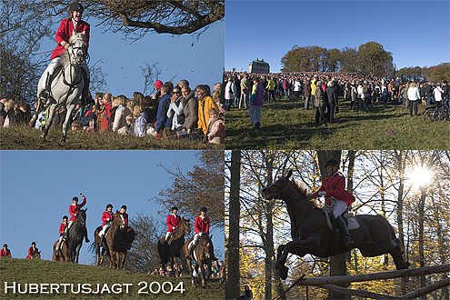 Postcard from the Hubertus Hunt 2004.