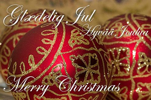 glædelig jul på engelsk