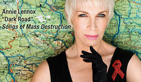 Annie Lennox' Dark Road videoen fra det kommende album Songs of Mass Destruction