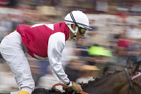 Jockey at Danish Derby.