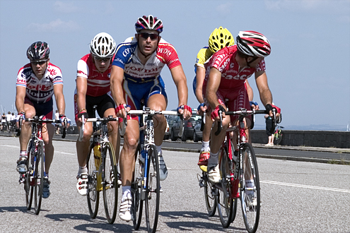 Front group in final stage of Tour de Denmark