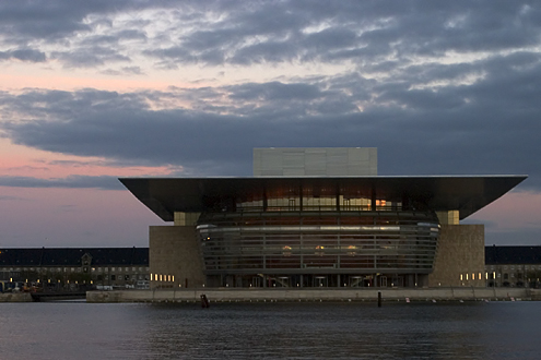 The new Danish Opera House, Copenhagen, Denmark