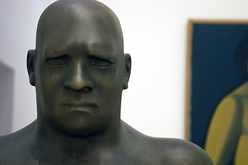 The Man (1920), skulpture by Svend Rathsack