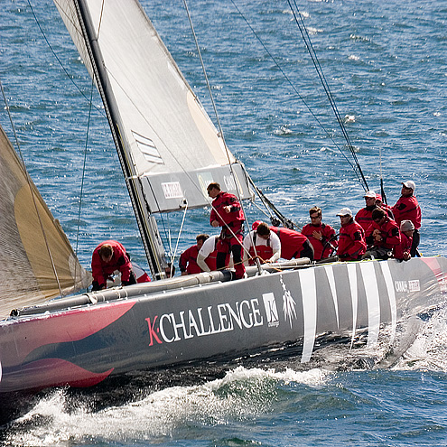 The K-Challenge America's Cup boat