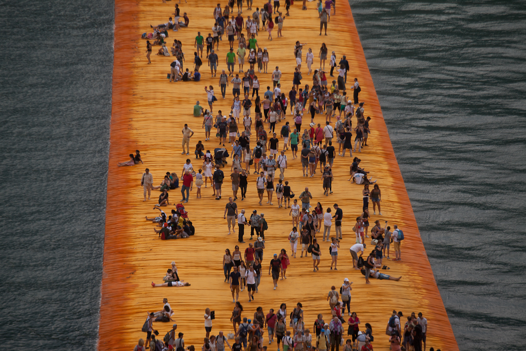 The Floating Piers, 2016