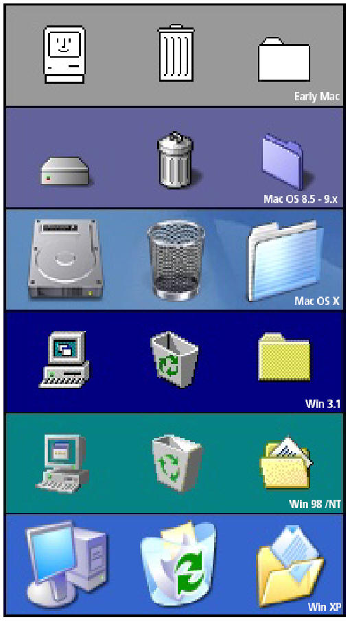Article: Creating a Windows XP Folder Icon in Adobe Illustrator